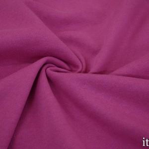 Ткань Трикотаж Футер Хлопковый, цвет розовый (7336)