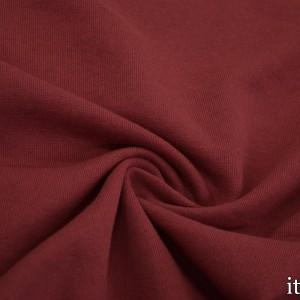 Ткань Трикотаж Футер Хлопковый 7330 цвет красный