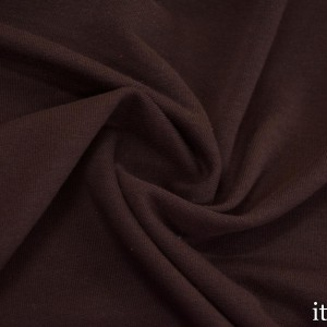 Ткань Трикотаж Футер Хлопковый, цвет бордовый (7343)