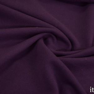 Ткань Трикотаж Футер Хлопковый, цвет фиолетовый (7341)