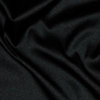 """Ткань Шелк Атлас """"Черный"""""""
