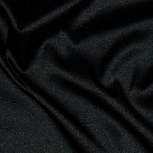 """Ткань Шелк Атлас """"Черный"""", цвет черный (i1611)"""