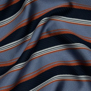 Ткань Жаккард, узор полоска (i2819)