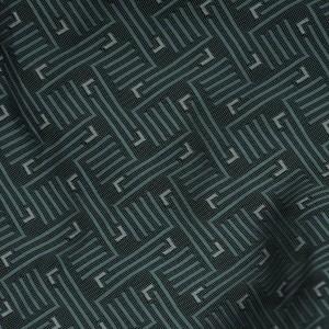 Ткань Жаккард, узор геометрический (i2831)