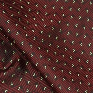 Ткань Жаккард, цвет бордовый (i2841)