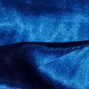 """Ткань Креп-сатин """"Джинсовый"""", цвет синий (i356)"""