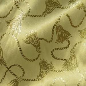 Ткань Парча, цвет золотой (i5816)