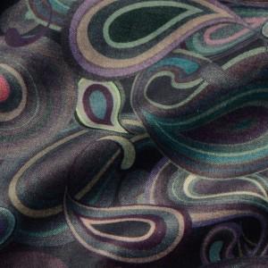 Ткань Велюр, узор абстрактный (i4148)