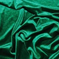 """Ткань Бархат-стрейч """"Светло-зеленый"""""""