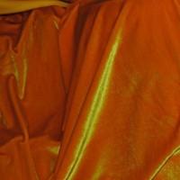 Ткань Бархат-стрейч «Солнечный»