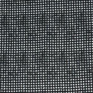 """Ткань Хлопок """"Черно-белая клетка"""" (i1702)"""
