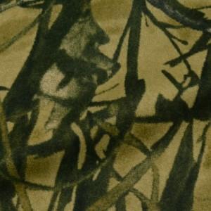 Ткань Искусственный мех, узор цветочный (i5184)