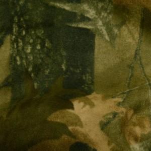 Ткань Искусственный мех, узор цветочный (i5185)