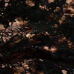 Ткань Искусственный мех, узор абстрактный (i5219)