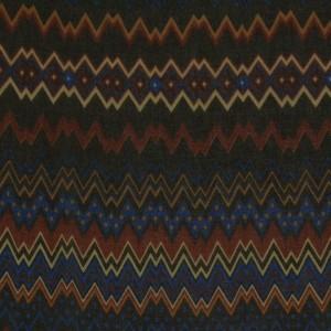 Ткань Шифон Набивной, узор геометрический (i3149)