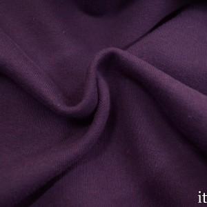 Ткань Трикотаж Футер Хлопковый (Брак), цвет фиолетовый (7368)