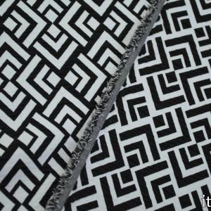 Ткань Жаккард Полиэстер 223 г/м2, узор геометрический (7420)
