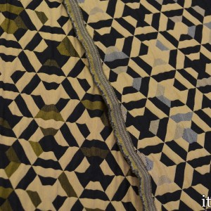 Ткань Жаккард Полиэстер 226 г/м2, узор геометрический (7425)