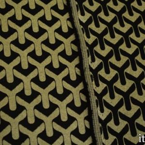 Ткань Жаккард Хлопковый 238 г/м2, узор геометрический (7412)
