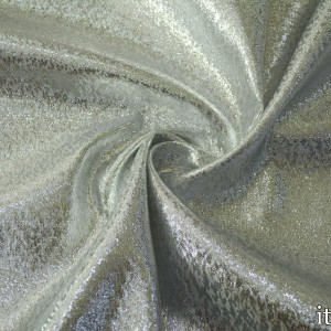 Ткань Парча 95 г/м2, цвет серебро (7768)