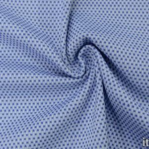 Хлопок рогожка 270 г/м2, цвет голубой (7532)