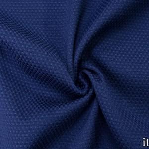 Хлопок рогожка 290 г/м2, цвет синий (7533)