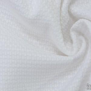 Хлопок рогожка 290 г/м2, цвет белый (7536)