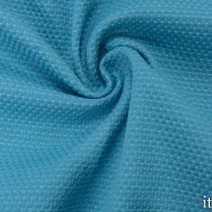 Хлопок рогожка 320 г/м2, цвет голубой (7540)
