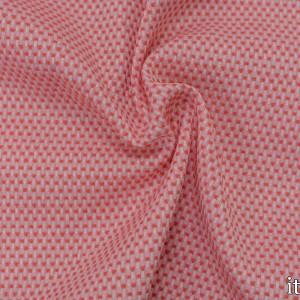 Хлопок рогожка 270 г/м2, цвет розовый (7541)