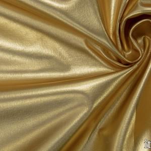 Парча стрейч 7522 цвет золотой