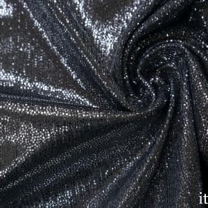 Парча стрейч 170 г/м2, цвет серебро (7531)