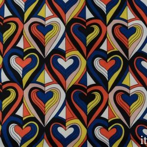 Плательная ткань 7710 цвет разноцветный