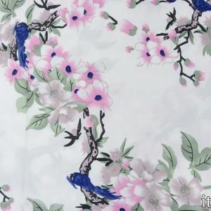 Плательная вискоза 100 г/м2, узор цветочный (7729)