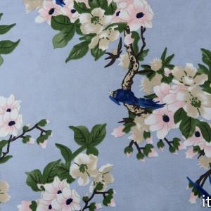 Плательная вискоза 100 г/м2, узор цветочный (7730)