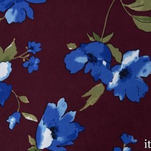 Плательная вискоза 120 г/м2, узор цветочный (7733)