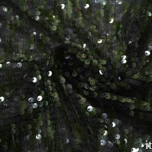 Сетка с пайетками 300 г/м2, цвет зеленый (7743)