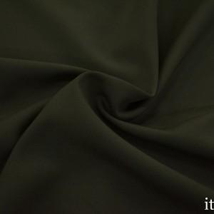 Ткань Костюмная Шерсть 7904 цвет зеленый