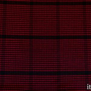 Ткань Пальтовая полиэстер цвет красный