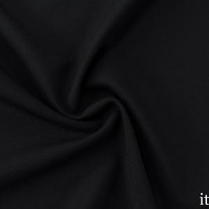 Шерсть Костюмная 210 г/м2, цвет черный (8122)