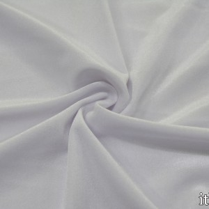 Бархат стрейч 280 г/м2, цвет белый (8421)