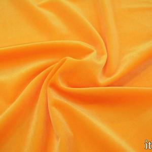 Бархат стрейч 8427 цвет оранжевый