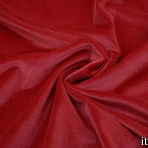 Бархат стрейч 8431 цвет красный