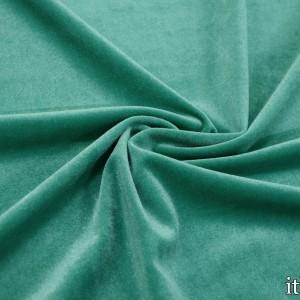 Бархат стрейч 280 г/м2, цвет бирюзовый (8443)