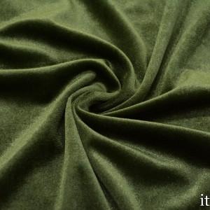 Бархат стрейч 8437 цвет зеленый