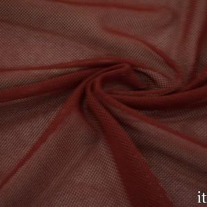 Сетка трикотажная 60 г/м2, цвет бордовый (8453)