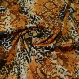 Трикотаж Вискозный Принт 225 г/м2, узор цветочный (8471)
