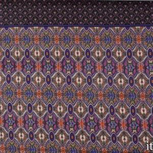 Трикотаж Вискозный Принт 225 г/м2, узор цветочный (8458)