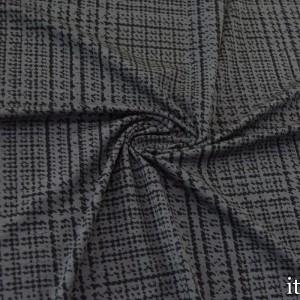 Трикотаж Вискозный Принт 225 г/м2, цвет серый (8470)