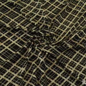 Трикотаж Вискозный Принт 225 г/м2, узор геометрический (8469)