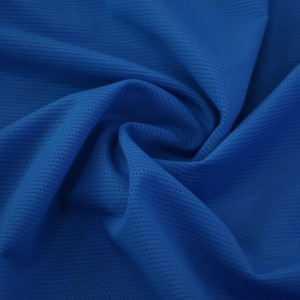 Ткань Бифлекс Сетчатый Spider Island Blue, цвет синий (6866)
